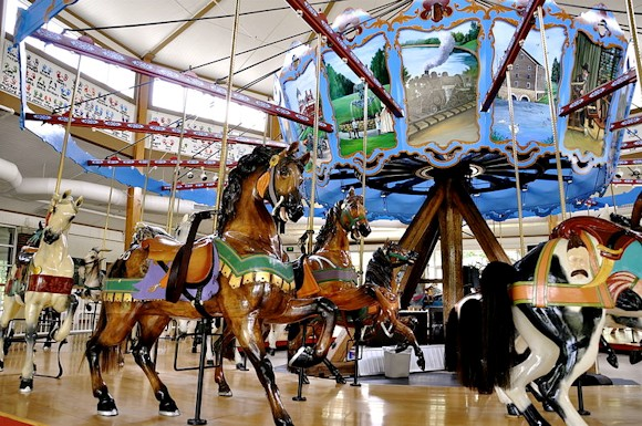 Cass County Indiana - Spencer Park Dentzel Carousel