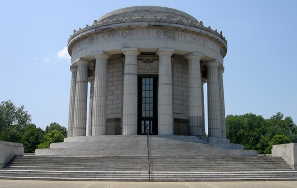 Knox County Indiana - George Rogers Clark Memorial