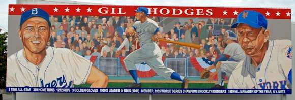 Pike County Indiana - Gil Hodges Mural