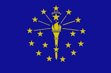 Indiana Travel - Flag