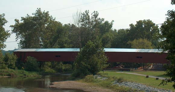 Parke County Indiana - Mansfield Covered Bridge