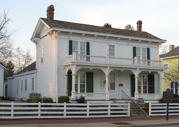 Hancock County Indiana - James Whitcomb Riley Birthplace & Museum